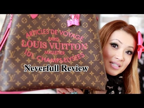 Louis Vuitton Neverfull Review (GM IKAT SUMMER 2013 COLLECTION)