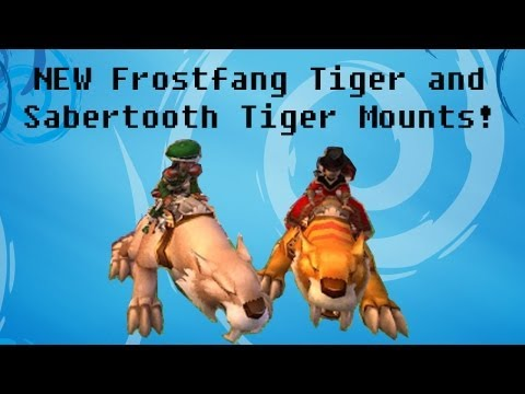 Wizard101: Crown Shop Updates: Two New Tiger Mounts