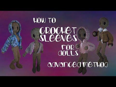 Advanced Crochet Sleeves Tutorial