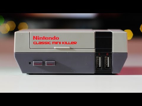 NINTENDO CLASSIC MINI KILLER | RASPBERRY PI EMULATOR BOX