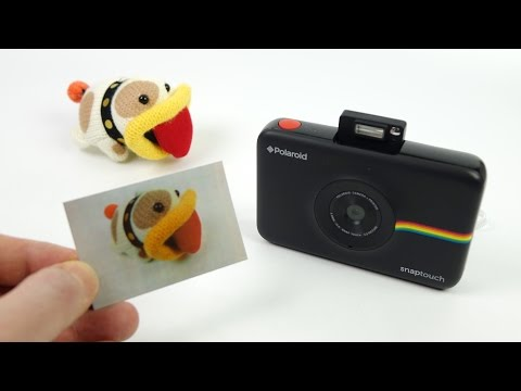 Polaroid Snap Touch Instant Camera REVIEW