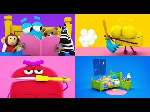 StoryBots | Songs About Daily Routines | Wake Up, Get Dressed, Brush Your Teeth | Learning Songs