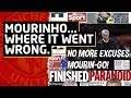SACKED Jose Mourinho Where Did It All Go Wrong Manchester United News