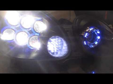 Lexus Gs custom headlights LS600, bi-xenon, LED