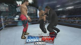 Raw Invades | WWE Smackdown vs Raw 2008 | 24/7 Mode Ep. 19