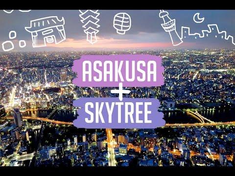 TOKYO VLOG: Asakusa & Skytree