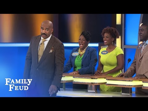 Don't forget to floss! | Family Feud