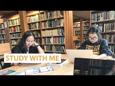 study with me #1 | STUDY ABROAD IN IRELAND