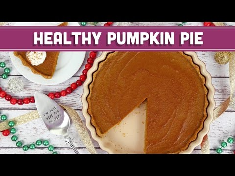 Healthy Pumpkin Pie for the Holidays + ANNOUNCEMENT! Mind Over Munch