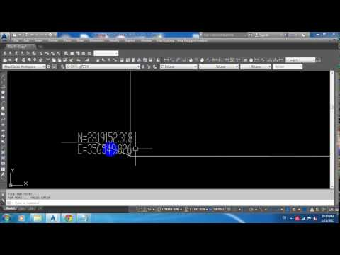 How to upload Lisp in Autocad and how to know Coordinates of any Point