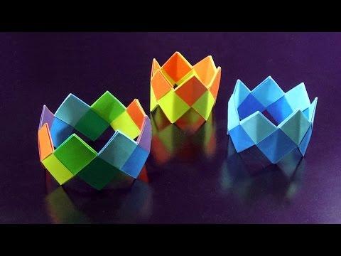 DIY Bracelet - How To Make A Bracelet With Color Papers  |