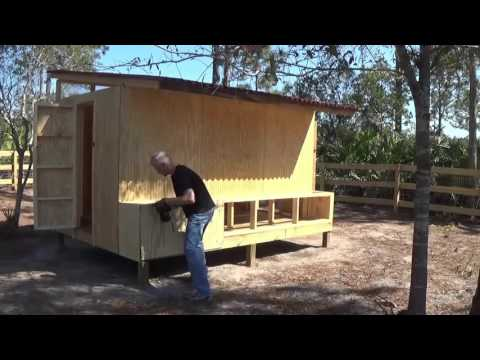 Chicken Coop Build
