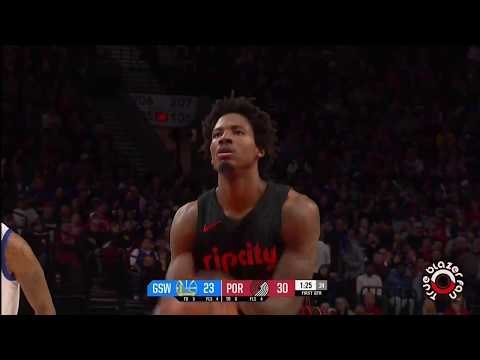 Portland Trail Blazers vs Golden State Warriors - Full Game Highlights - March 09, 2018