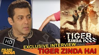 Exclusive Interview With SALMAN KHAN | Tiger Zinda Hai | Celebrity Unplugged
