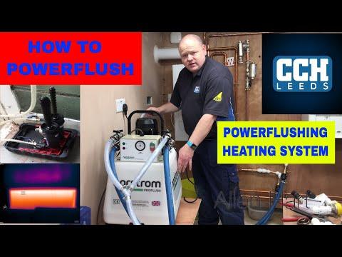 HOW TO POWERFLUSH - Powerflushing a Combi Boiler Leeds