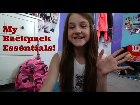 My Backpack Essentials!