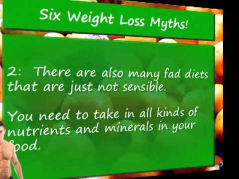 6 Weight Loss Myths You Might Believe