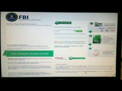 Como Remover Facilmente El FBI Virus
