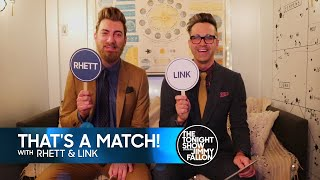 Download ″That's a Match!″ with Rhett & Link Video