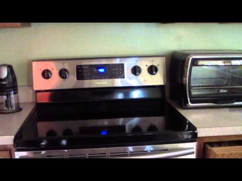 SAMSUNG FE-R300 ELECTRIC RANGE CONVECTION OVEN