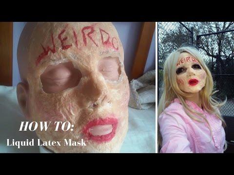 SFX How To: Liquid Latex Mask