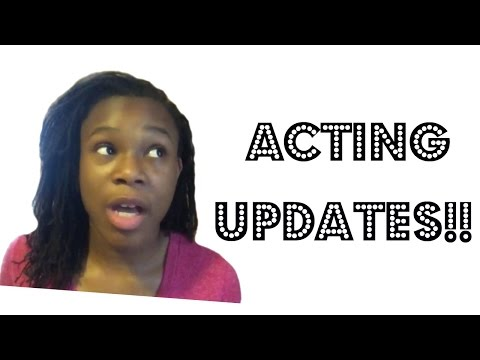 ACTING UPDATE: Auditions, Acting Q & A, & BOOKING A JOB??