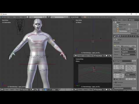 Blender For Noobs - Character Creation - Part 4