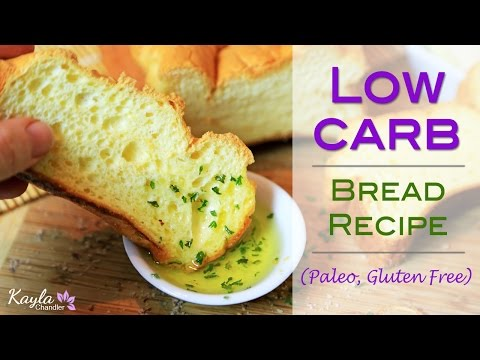 Low Carb Gluten Free Bread Recipe - Only 4g of Carbs for Entire Loaf!