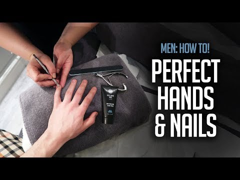 Men's Manicure: How To | Grooming Essential!