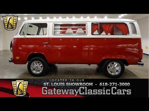 1973 Volkswagen Bus - Gateway Classic Cars St. Louis - #6656