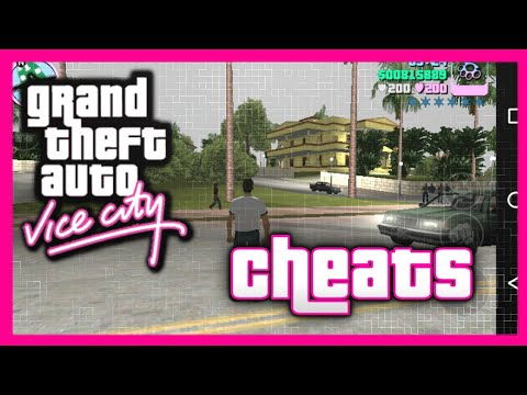 How To Apply Cheats On GTA : Vice City Android (2018)