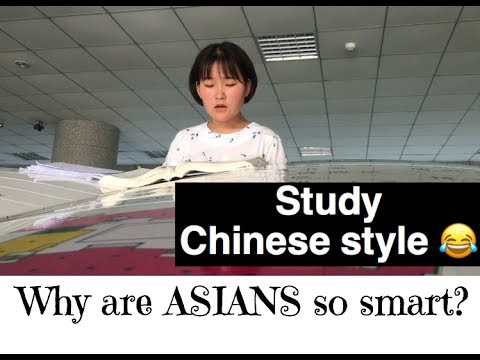 HOW CHINESE STUDENTS IN CHINA STUDY, WHY ARE ASIANS SO SMART - ASIAN STUDY HABITS