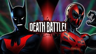 Batman Beyond Vs Spider man 2099 dc Vs Marvel Death Battle