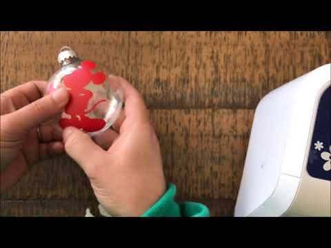 DIY Mickey Mouse Shaker Ornament