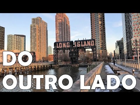O OUTRO LADO DE MANHATTAN LONG ISLAND CITY SKYLINE
