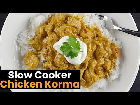 Simply Amazing Slow Cooker Chicken Korma