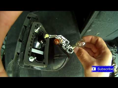 Ford Galaxy brake light bulb replacement!!!