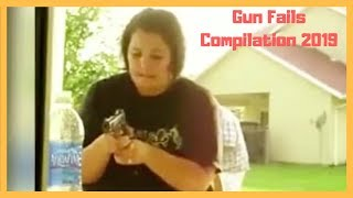 Gun Fails Compilation 2019 - Extrem Funny Failure
