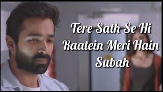 Tum Se Lyrics | Jalebi | Jubin Nautiyal | Varun Mitra , Rhea Chakraborty