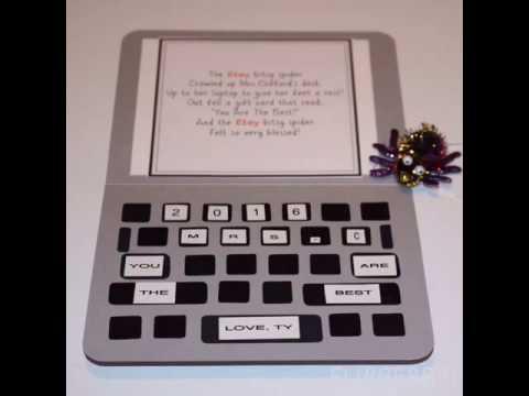 Etsy Gift Card Idea