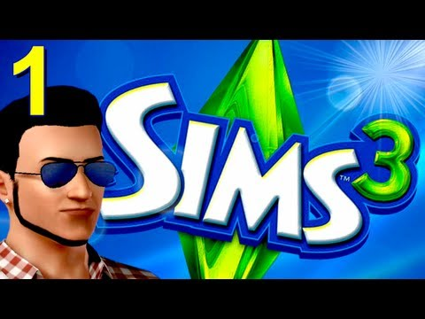The Sims 3 w/ Chilled (Part 1: Making Me Sexy)