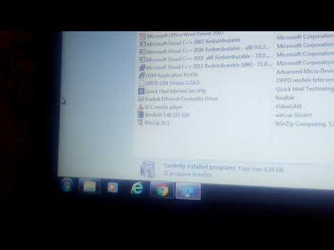how to uninstall a application from laptop (windows)