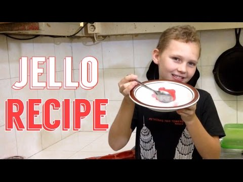 HOW TO MAKE JELLO | EASY RECIPES FOR KIDS TO MAKE