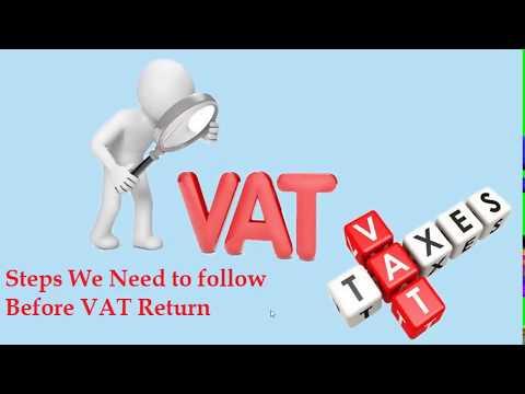 Steps we need to Follow before VAT Return Filing in UAE