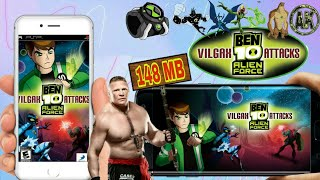 Download & Install Ben 10 Alien Vilgax Attacks|| Highly