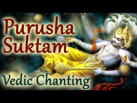 Vedic Chants    Purusha Suktam by 21 Brahmins   Vedic Hymns