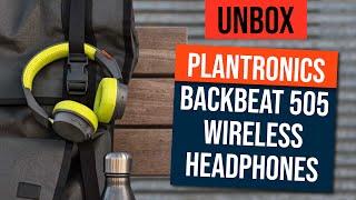[UNBOXING] Plantronics BackBeat 505 Wireless Headphones
