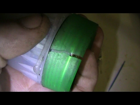 How To Fix a Broken Waterproof Flashlight Case With Super Glue - Was Gift From Girlfriend