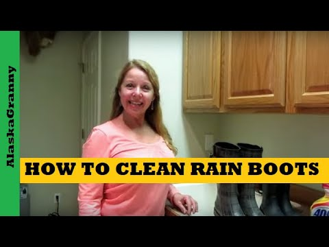 How To Clean Rain Boots