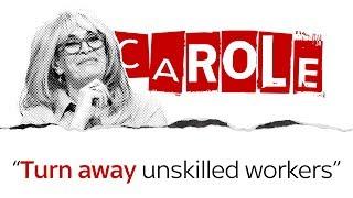 Carole Malone on immigration